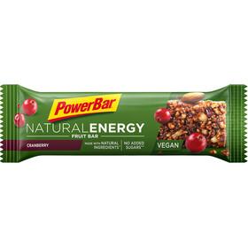 PowerBar Natural Energy Fruit Bar Box 24x40g Cranberry